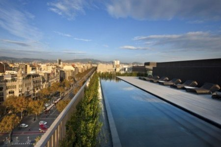 Roof Top Pool @ Mandarin Oriental in Barcelona, Spain