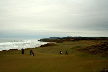 bandon dunes oregon golfing