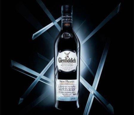 Glenfiddich Scotch whisky snow phoenix