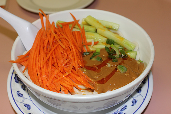 Szechuan Noodle Bowl's Cold Noodle with Vegetables