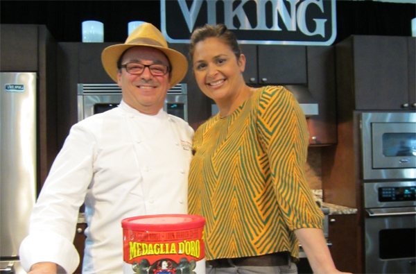 Chef Terry Rautureau and Chef Antonia Lofaso