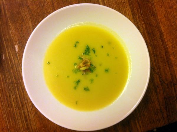 Tilth Savory Apple Soup