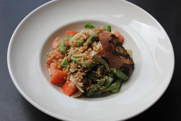 Fare Start Grilled Asparagus Salad