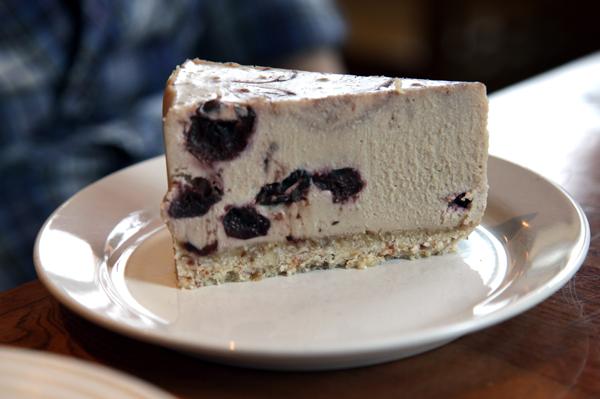 Chaco Canyon White Chocolate Cherry Cheesecake
