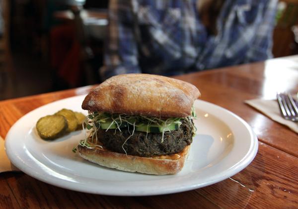 Chaco Canyon Lentil Burger