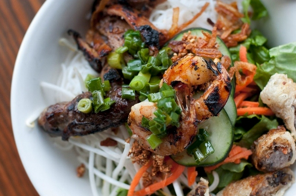 Combo Vermicelli. Photo by Ba Bar Seattle.