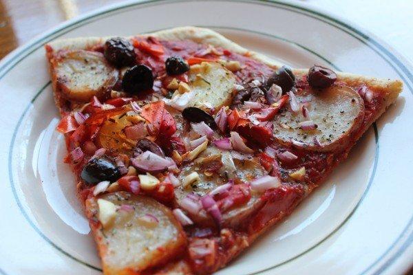 World Pizza Vegan Potato Pizza