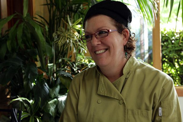 Cafe Flora Executive Chef Janine Doran