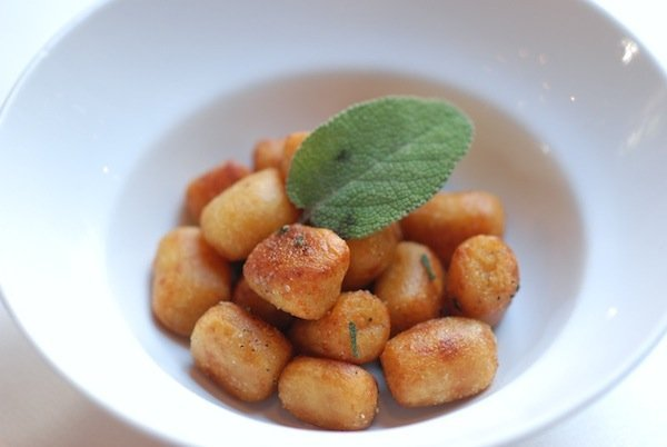 Sweet Potato Gnocchi. Photo by Sean D.