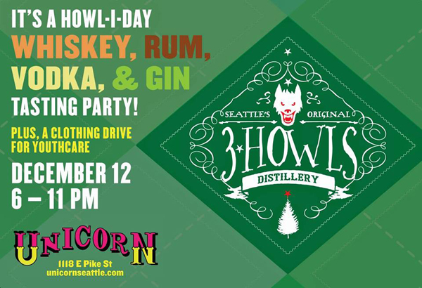 3 Howls Howliday Party