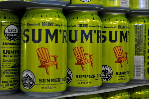 Sum'r, American Blonde Ale style beer is ready to be shipped to Washington.