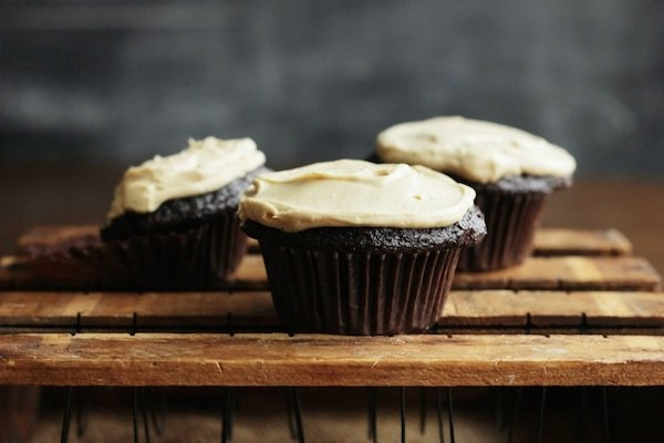 Stout Cupcakes image via The Broken Bread blog
