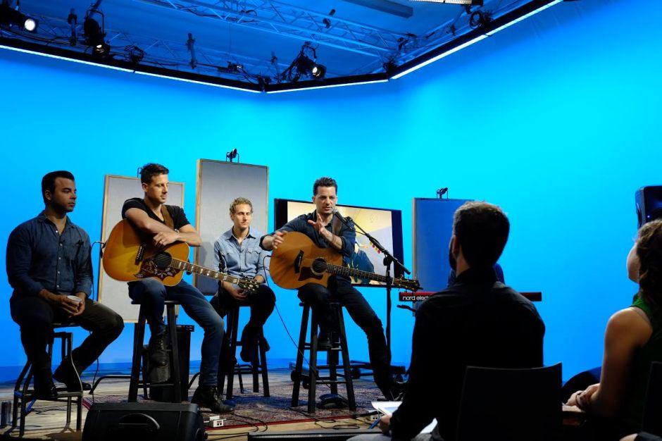 OAR In studio