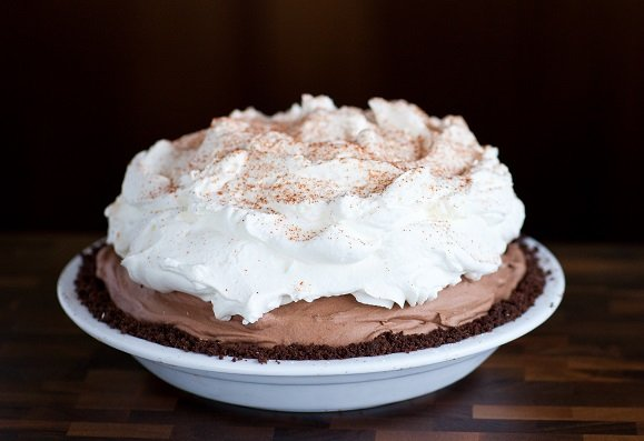 Mexican Chocolate Mousse Pie. A la Mode Pies.