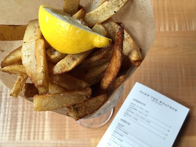 Chicken Fat Fries. Photo by Jennifer Liu.