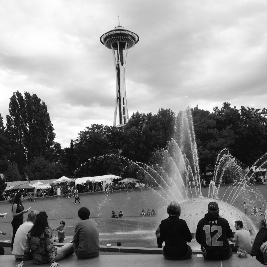 Seattle Center by Corinne Whiting