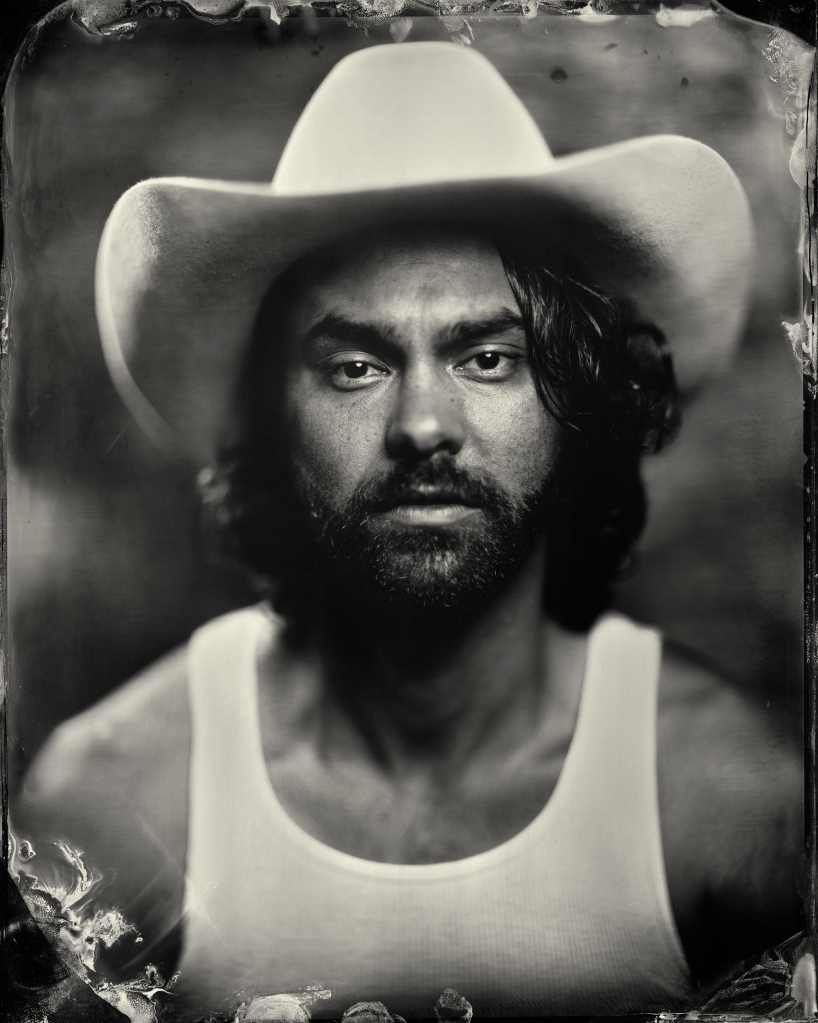 Shakey Graves at Newport Folk Festival 2013 (Shakey Graves Tintype, Giles Clement)