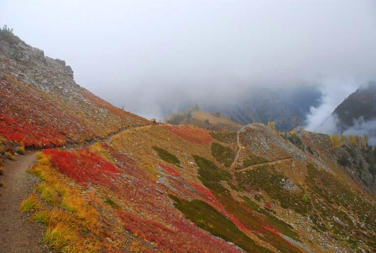 Maple Pass. Photo by Bob & Barb.