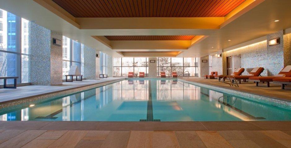 Non-chlorinated pool.