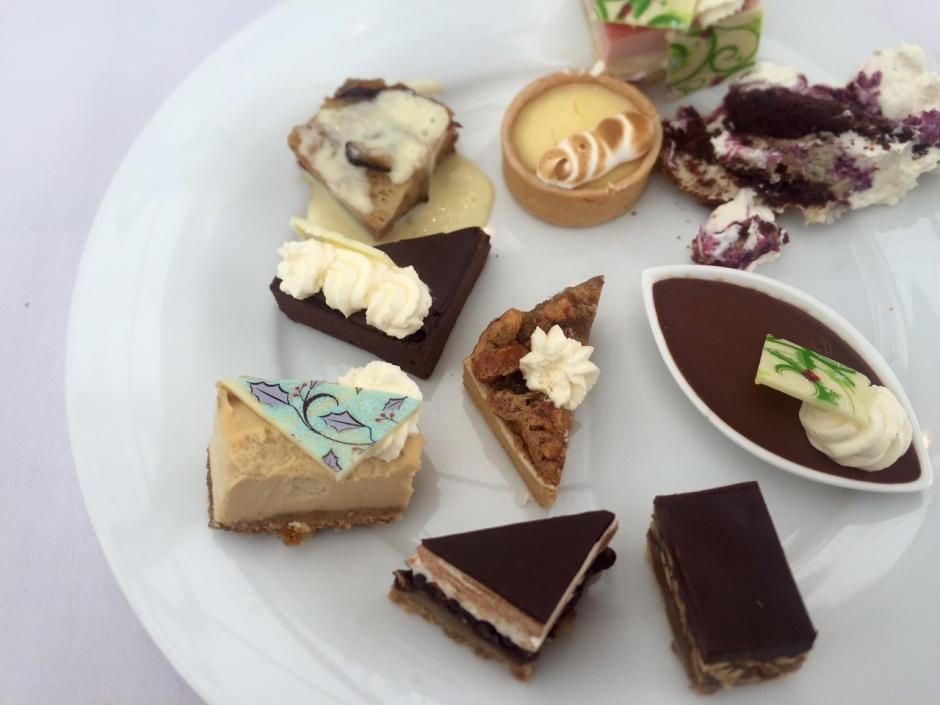 Desserts at Santa Brunch. Photo by Jennifer Liu.