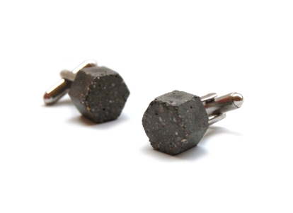 HexagonConcreteCufflinks3