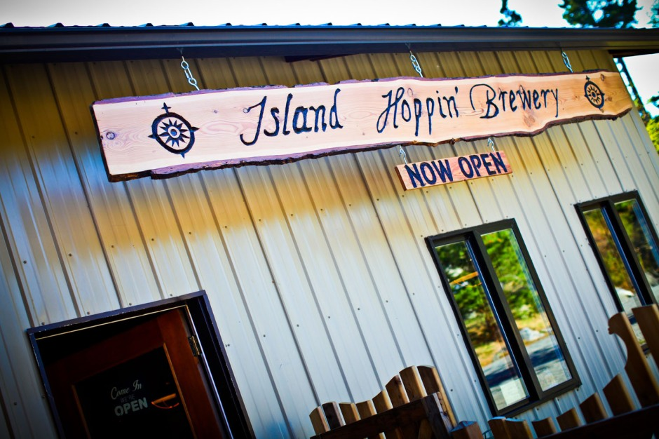 Photo by Island Hoppin' Brewery.