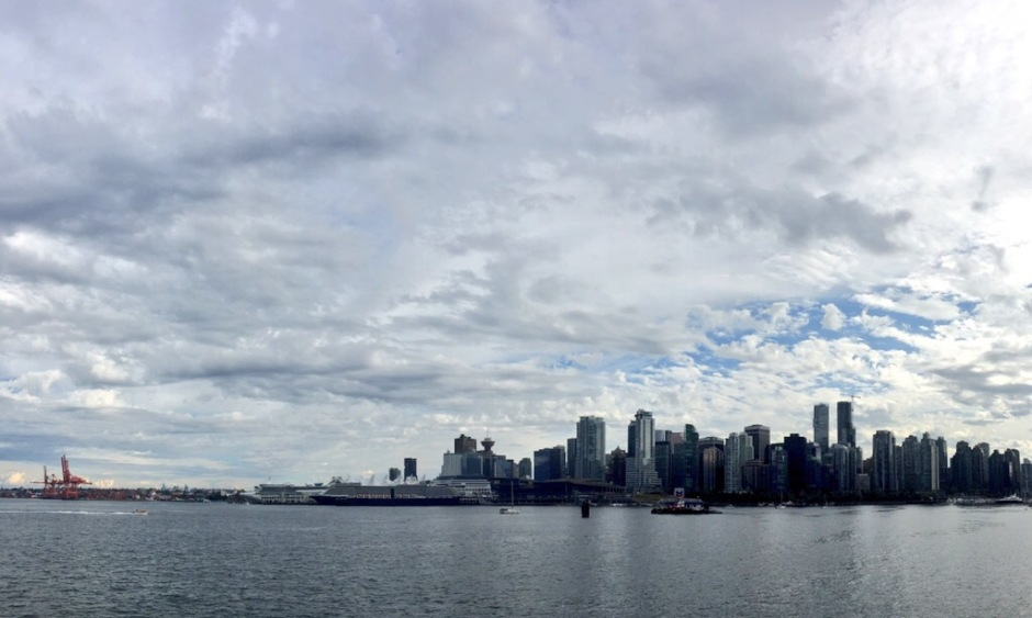 View from Stanley Park. Photo by Jennifer Liu.