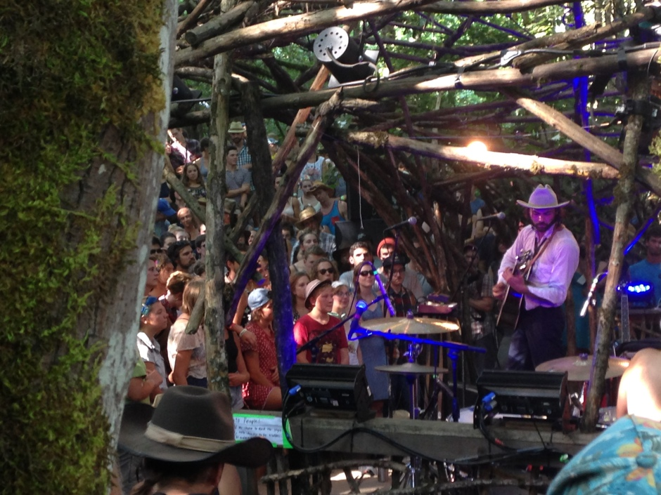 Shakey Graves at Pickathon by Corinne Whiting