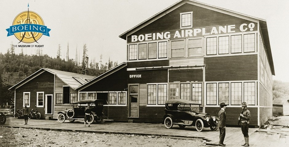 Celebrating 100 Years of Boeing. Photo by Museum of Flight.