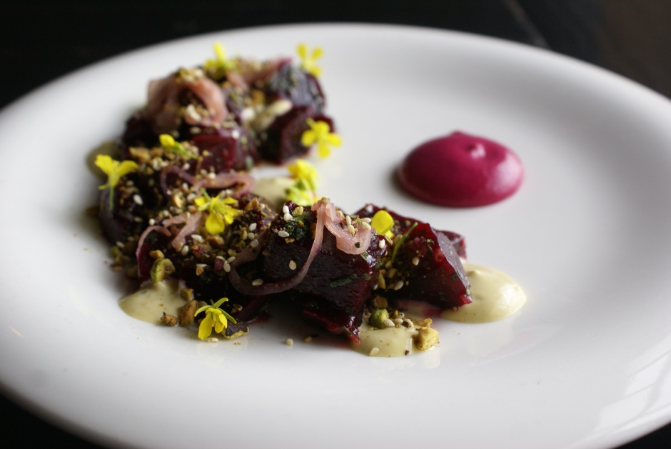 Braised Red Beets. Photo by John Beck.