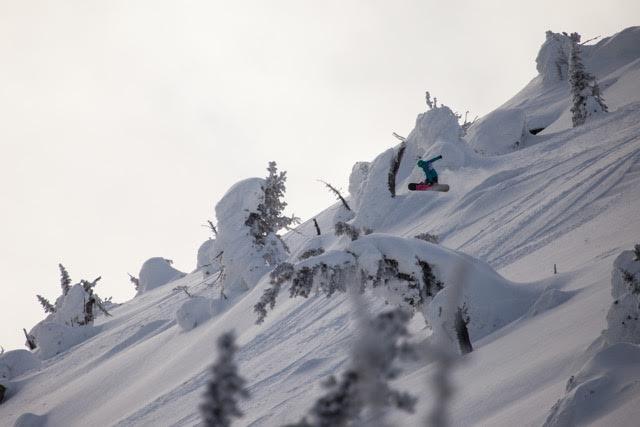 Mount Baldy Slack Country Competitor photo courtesy Carmella Consulting