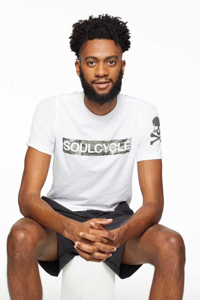 Instructor Earl Benjamin, photo courtesy SoulCycle/Duo Public Relations