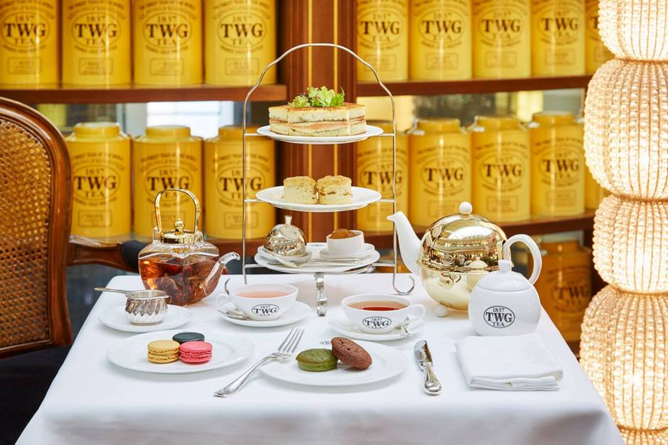 Fortune tea set. Photo by TWG Tea.