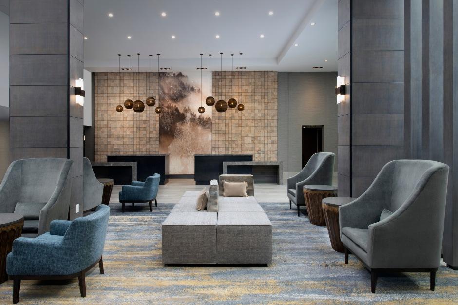 Delta Hotels Seattle Everett Lobby