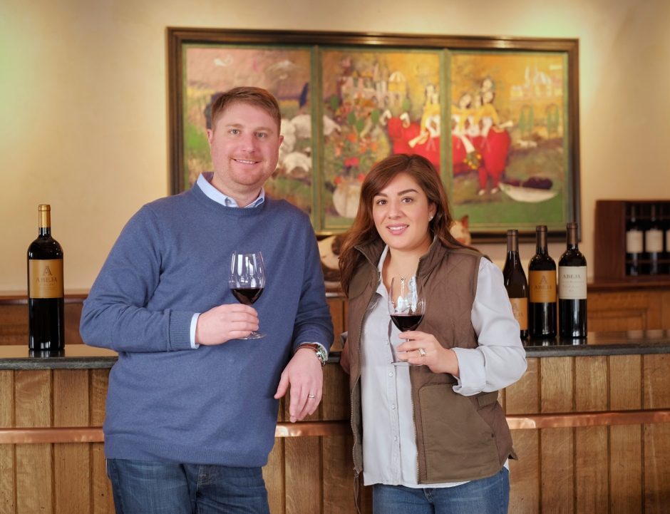 Winemakers-Daniel_Wampfler_Amy_Alvarez-Wampfler-Abeja
