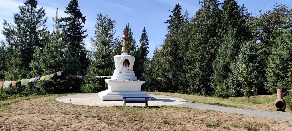 The Buddha Stupa at The Earth Sanctuary (Photo by Aakanksha Agarwal)